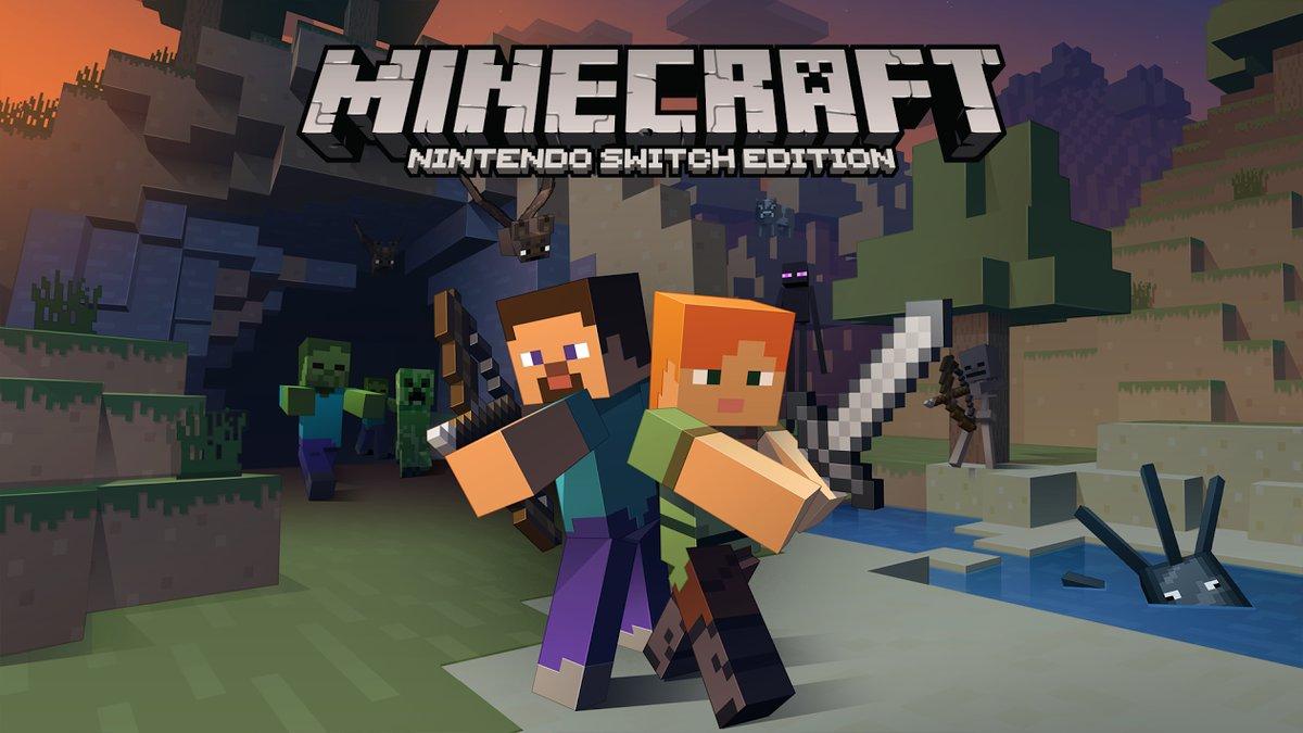 Minecraft Nintendo Switch Edition artwork