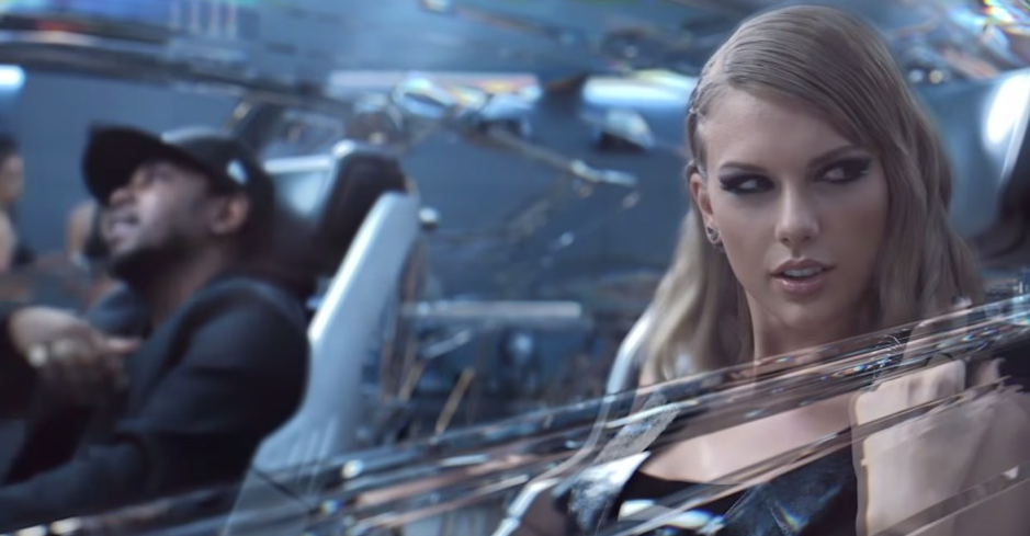 Taylor Swift - 'Bad Blood' music video screenshot