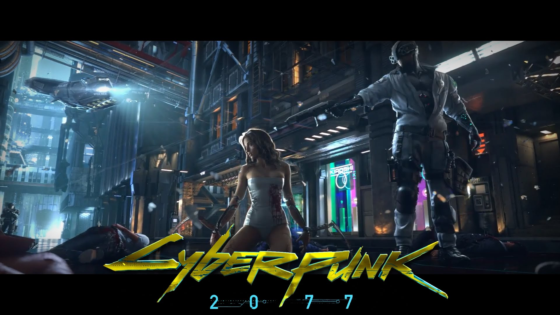 Cyberpunk 2077 promotional art