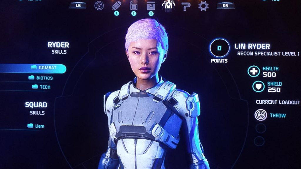 Mass Effect Andromeda character creator