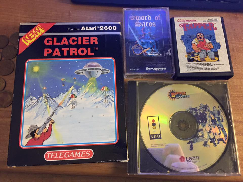 Collecting games on different platforms/media
