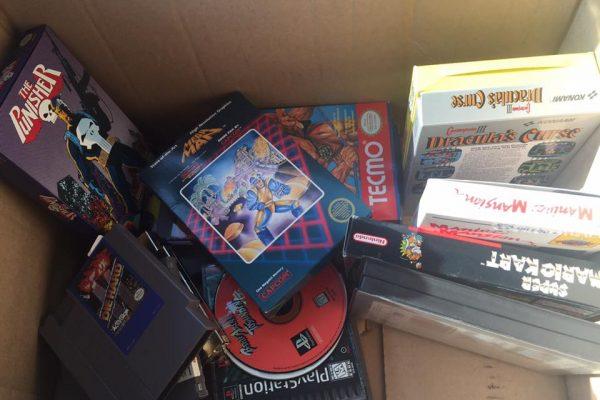 A box of gaming history