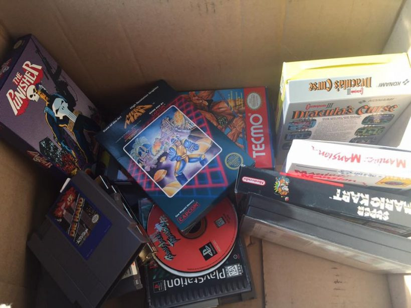 A box of gaming history