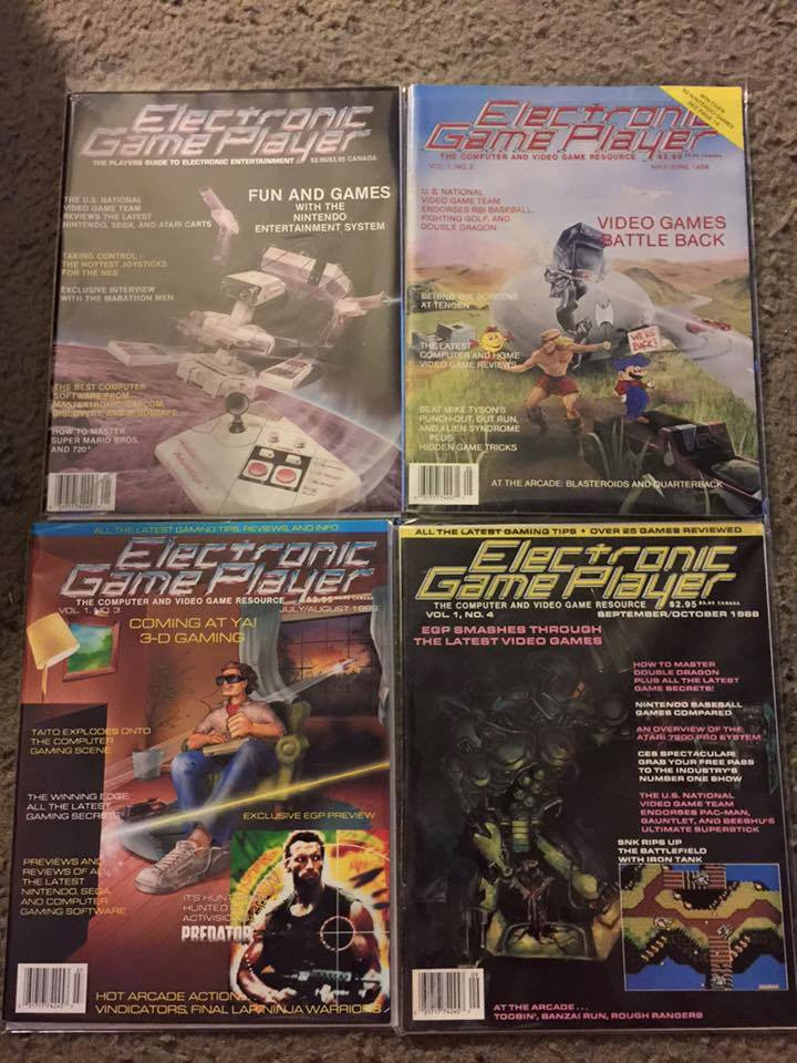 Video gaming magazines