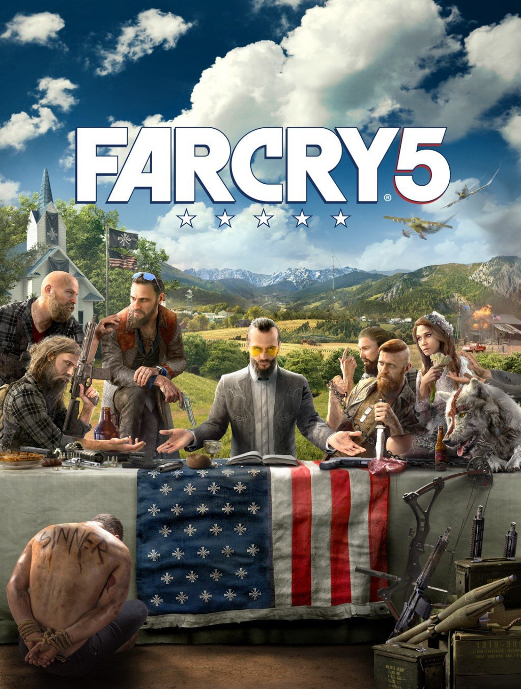 Far Cry 5 (presumed) Box Art