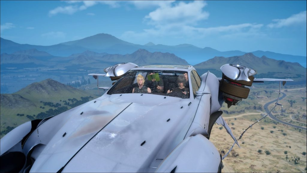 Final Fantasy XV keeps gaining content for fans to play after beating the game, offering more end-game content than just a flying car.
