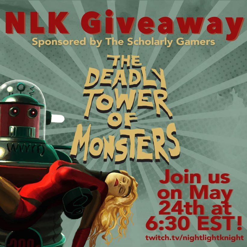 The Deadly Tower of Monsters Giveaway Stream