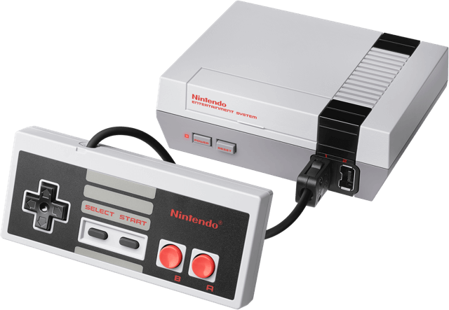 A picture of the NES Classic Edition, not the RetroN HD
