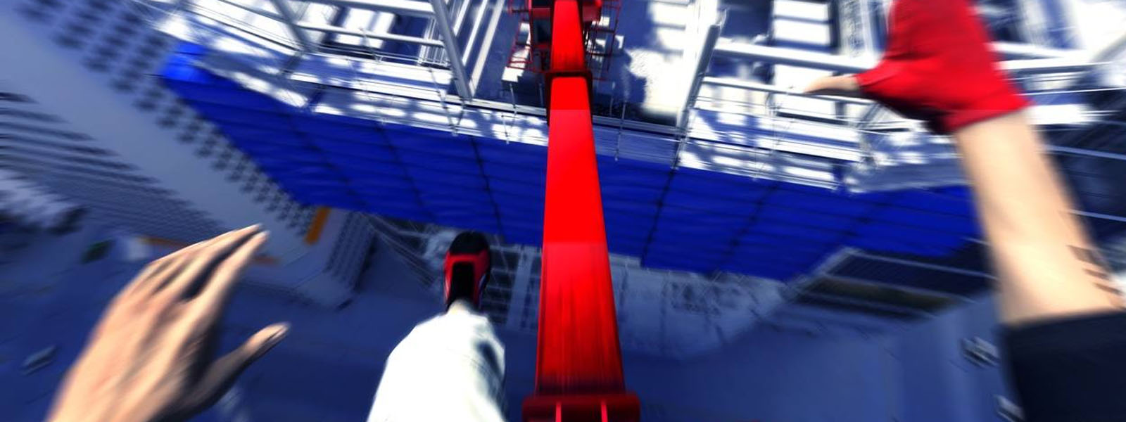 Motion sickness from Mirror's Edge