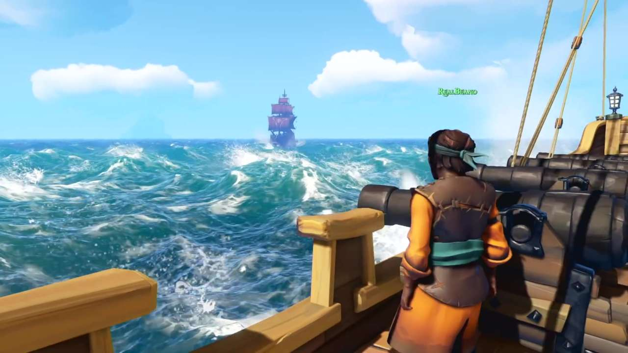 Pirates in Sea of Thieves