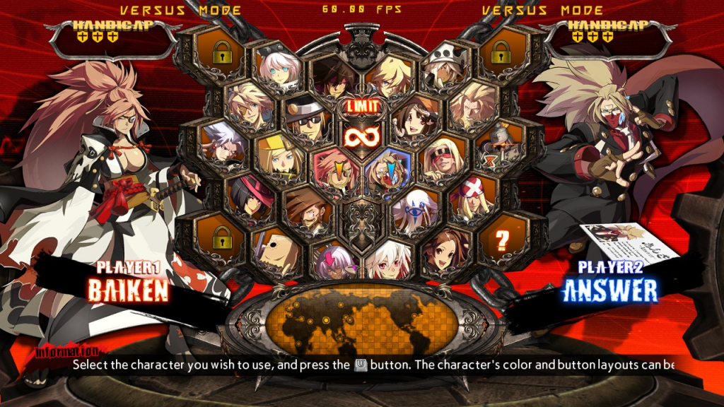 GG Xrd Rev 2 - Character Select