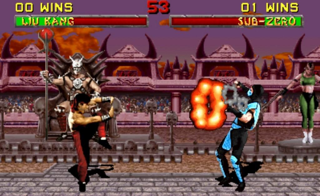 Mortal Kombat wasn't an 'arcade classic' in the 90s, but it wouldn't be fair not to call it one today.