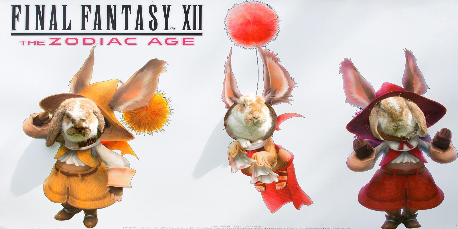 Final Fantasy XII The Zodiac Age Moogle Watch Livestream - 5th July 2017.