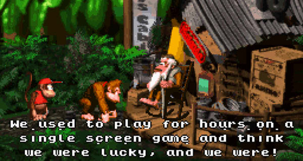 Donkey Kong Country retro