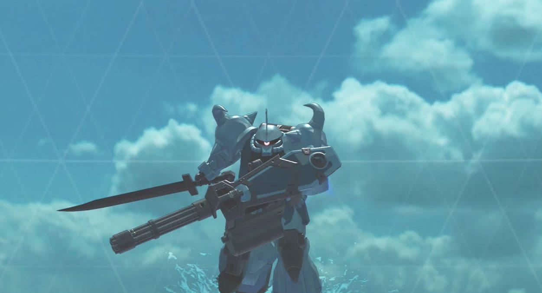 Gouf Custom (Gundam Versus)