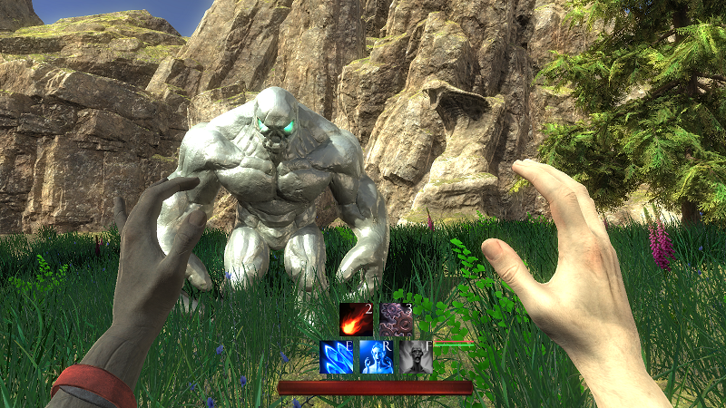Champions of Odin is a first-person spellcasting game