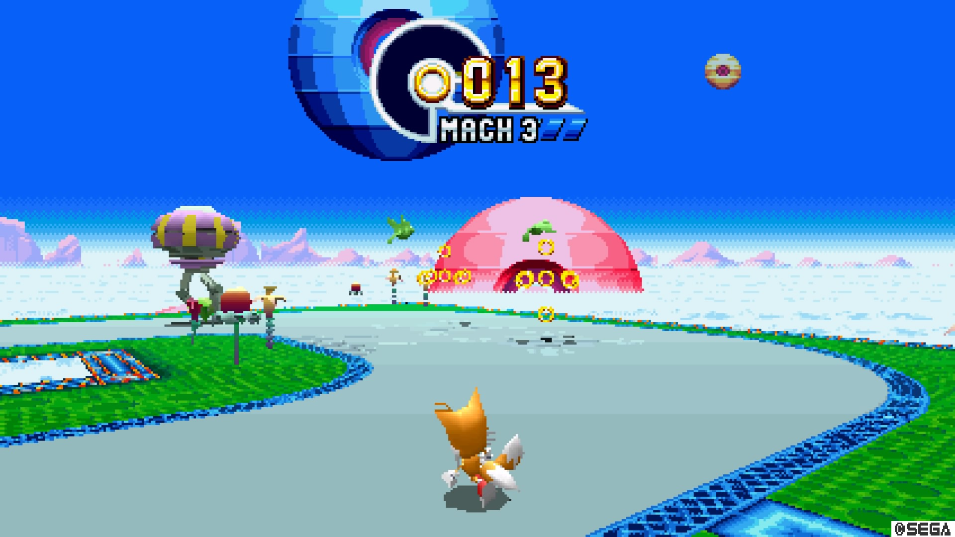 Sonic Mania's special stage