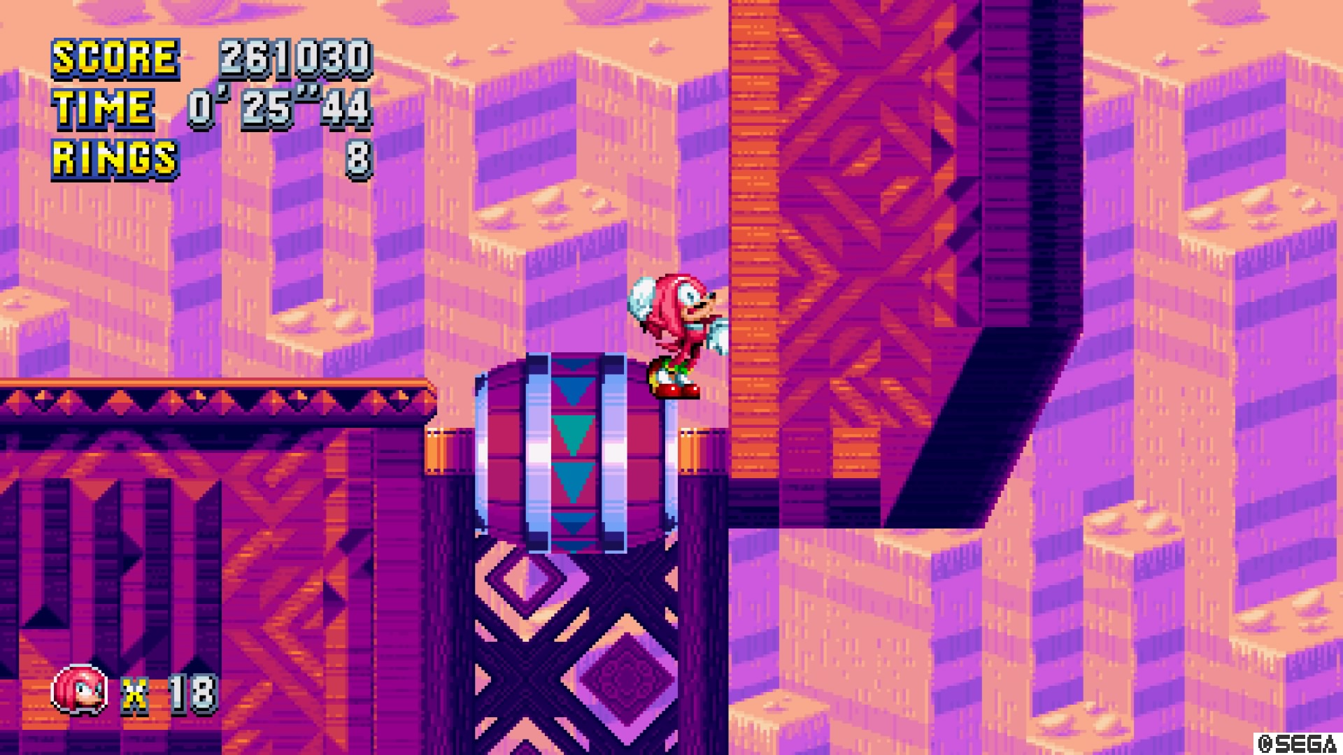 Knuckles in danger