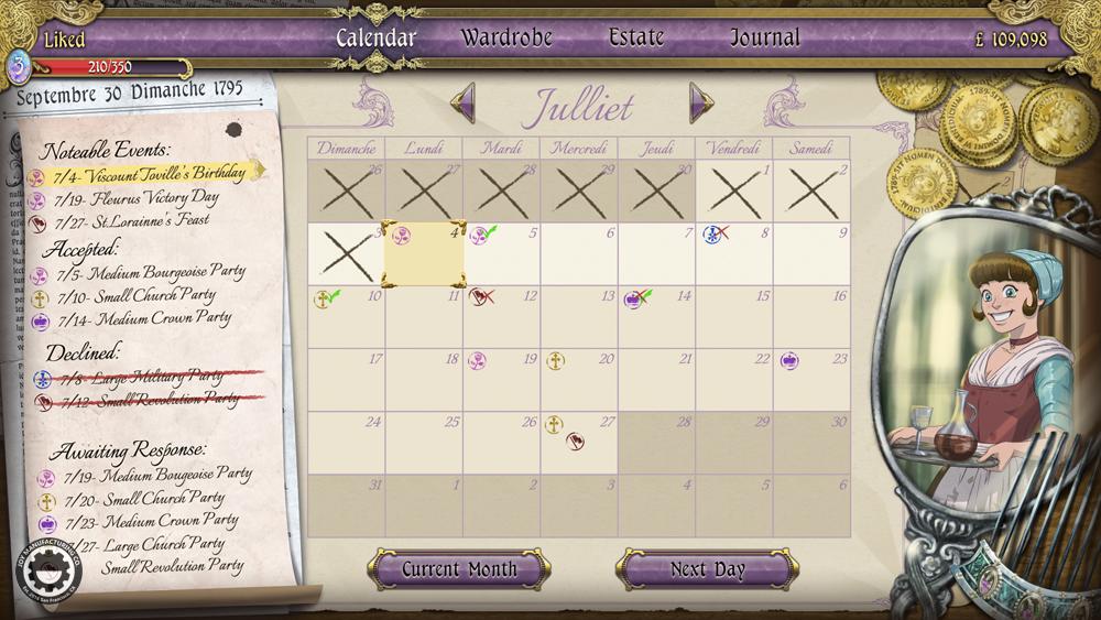 Ambition calendar