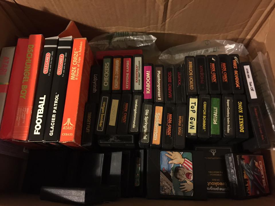 Atari video game preservation
