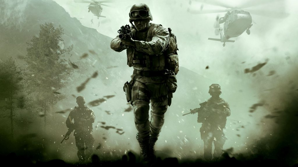 Modern Warfare Splash Page