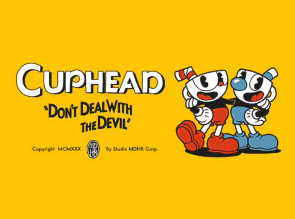 Cuphead Title Art