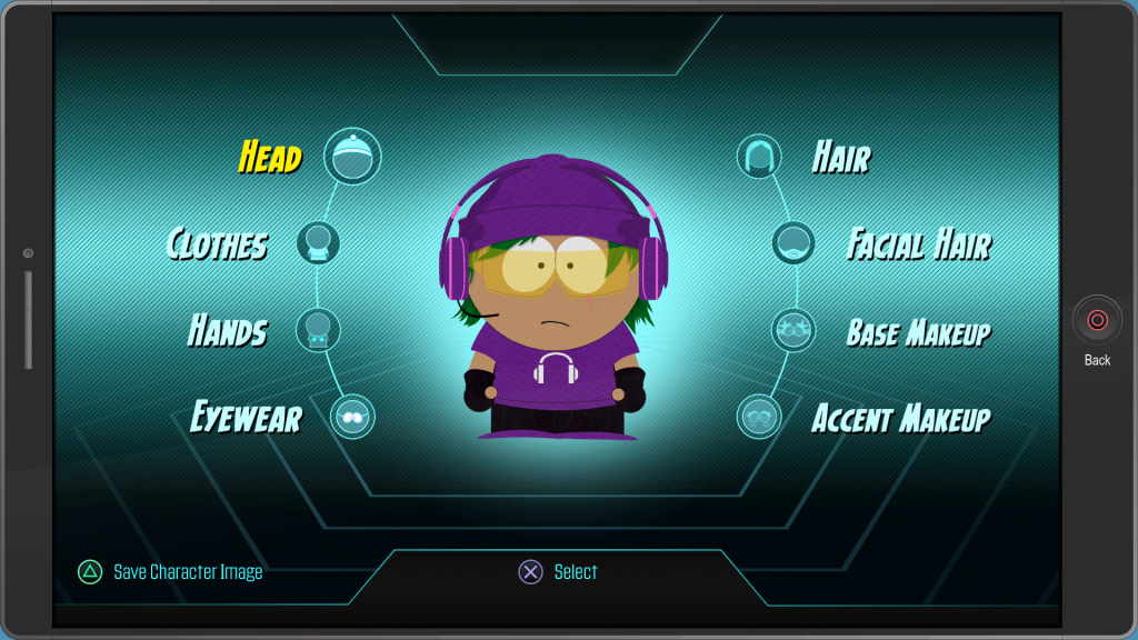 South Park customization
