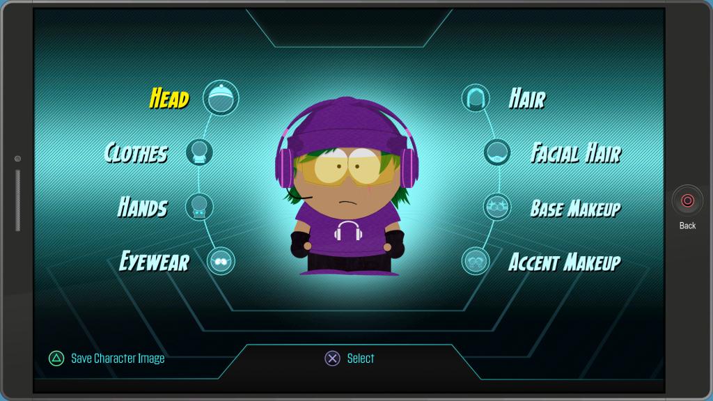 South Park customization