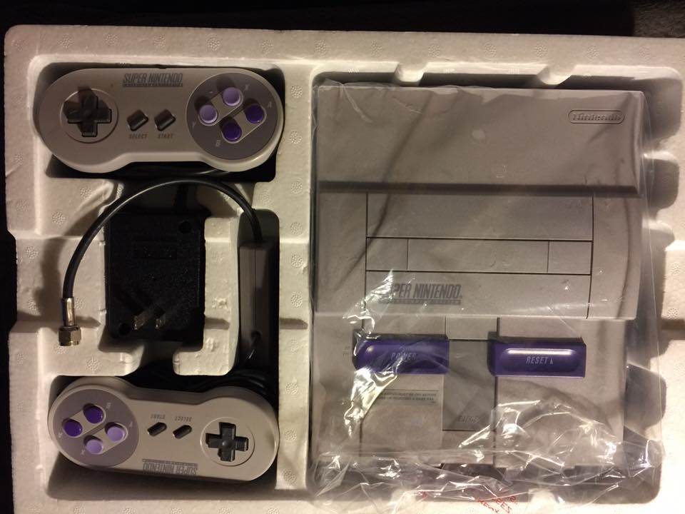 Retro gaming: Super Nintendo Entertainment System (SNES)