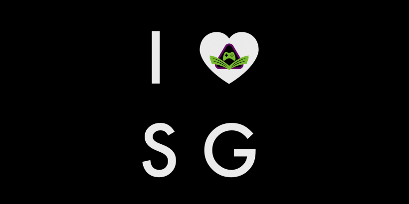 I Heart Scholarly Gamers Graphic