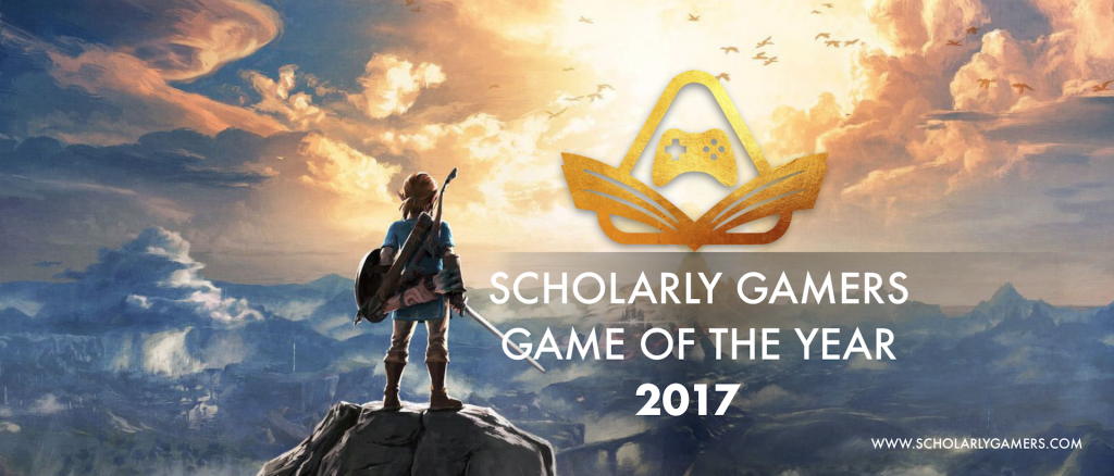 Legend of Zelda: Breath of the Wild Game of the Year 2017