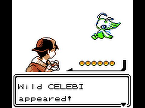 Pokémon Crystal screenshot of Celebi