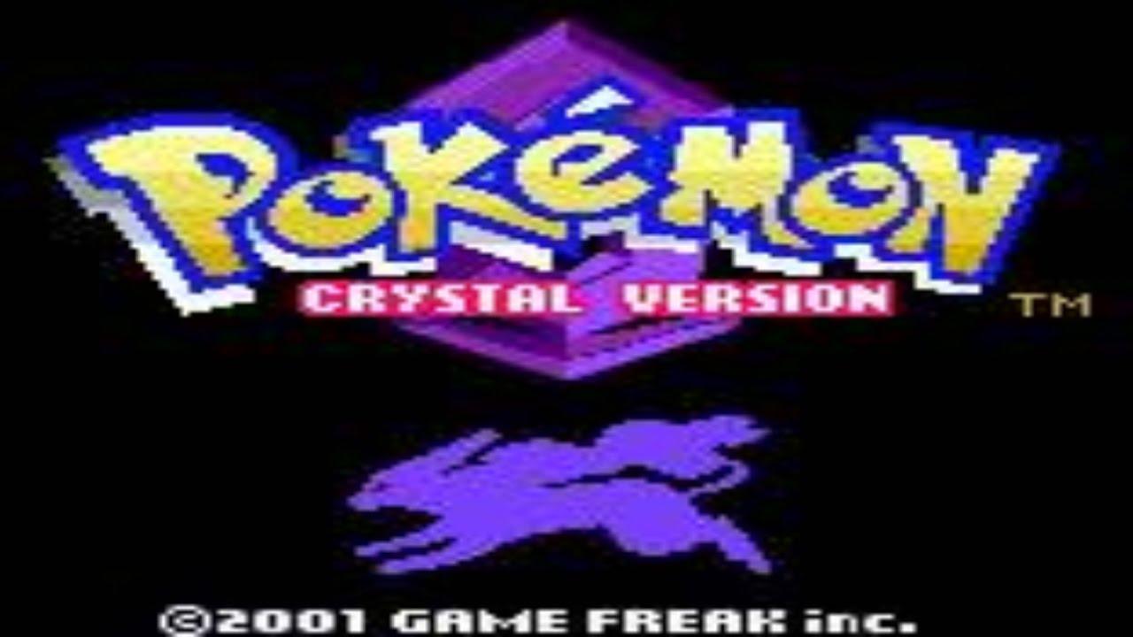 Pokémon Crystal Title Graphic