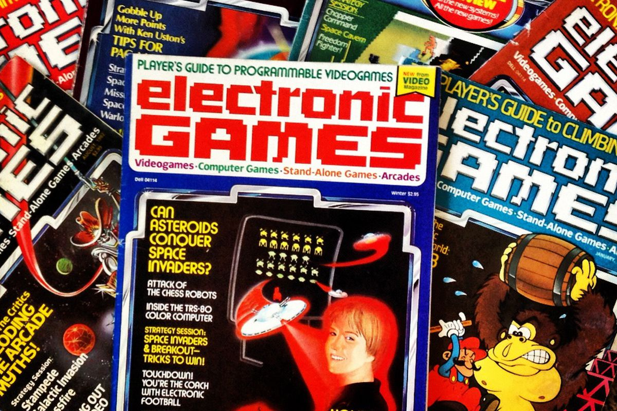 Video games magazines