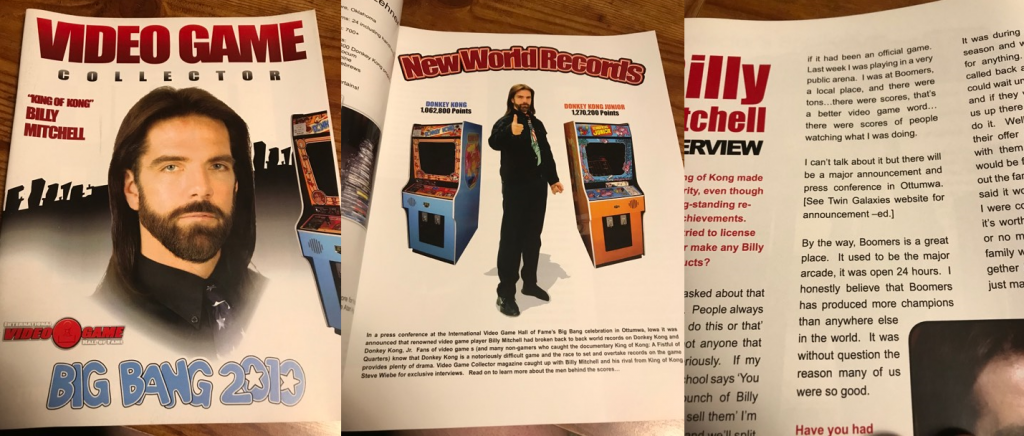 Billy Mitchell Magazines