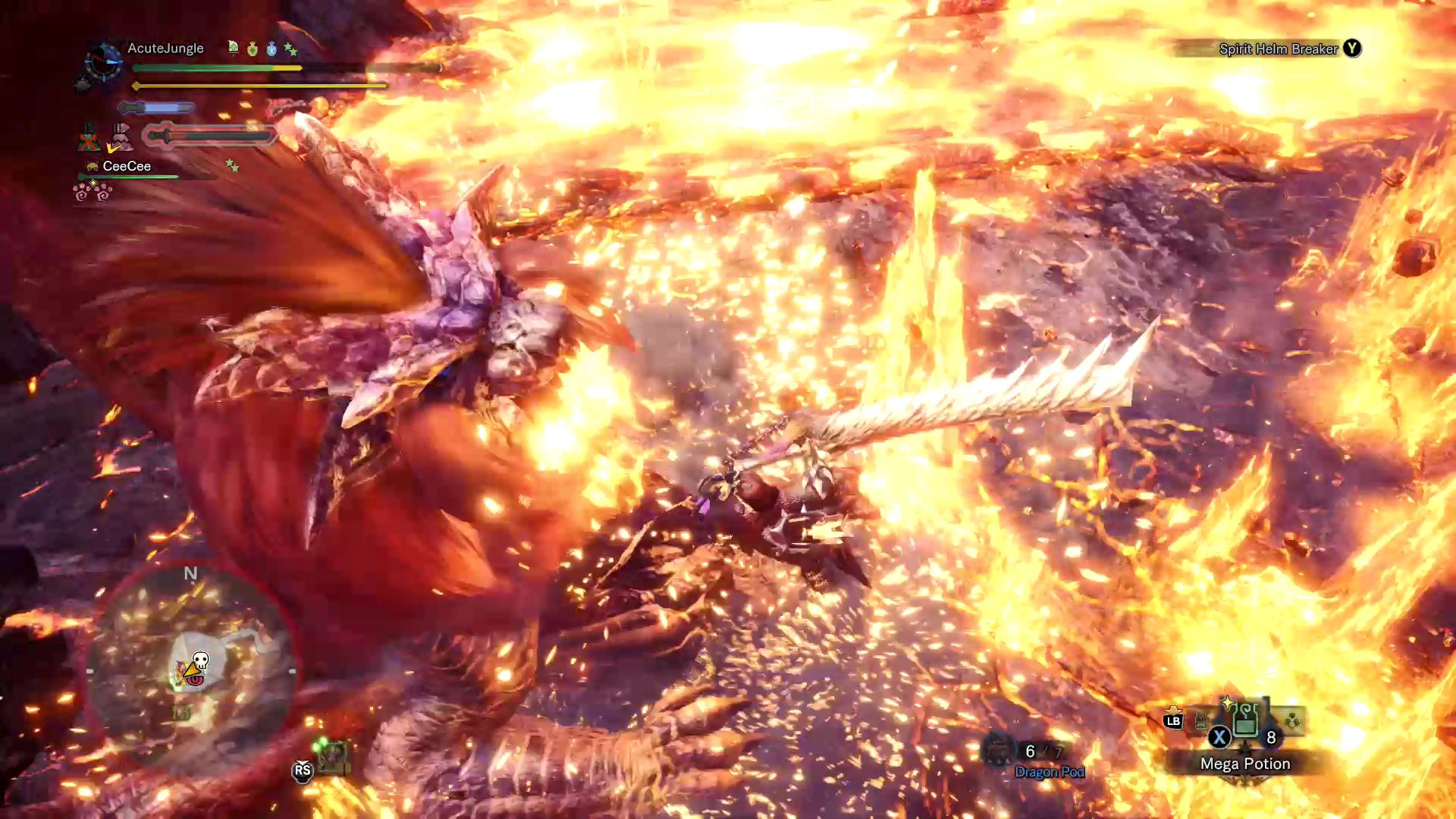 Monster Hunter Teostra