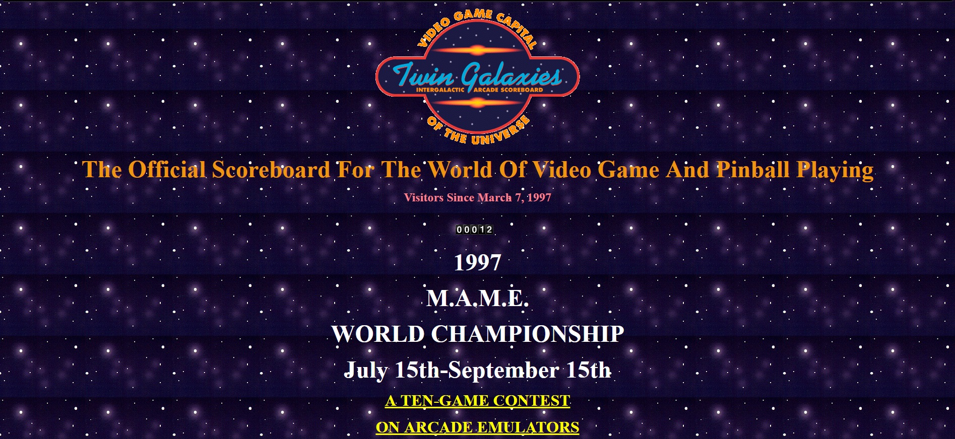 Twin Galaxies Scoreboard