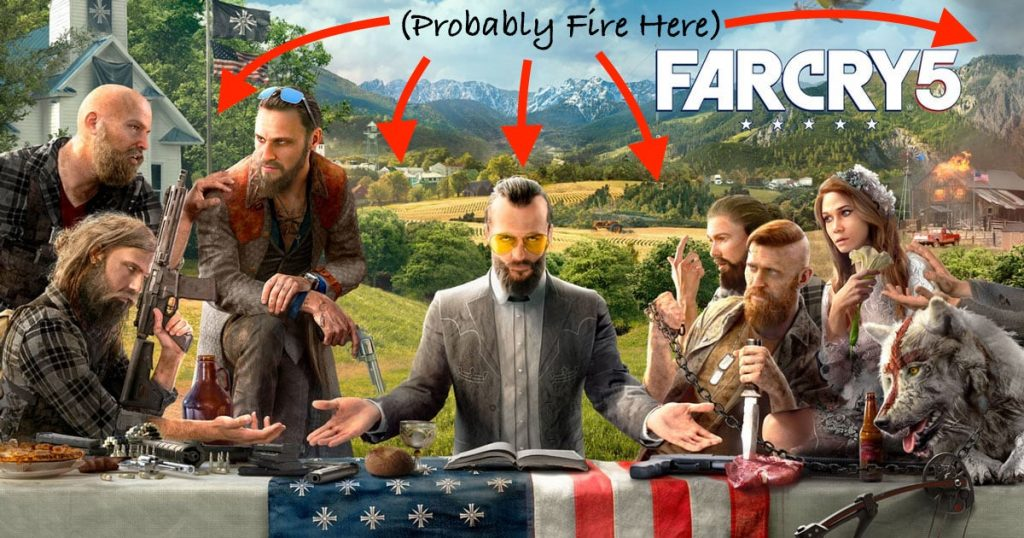 Far Cry 5 Fire