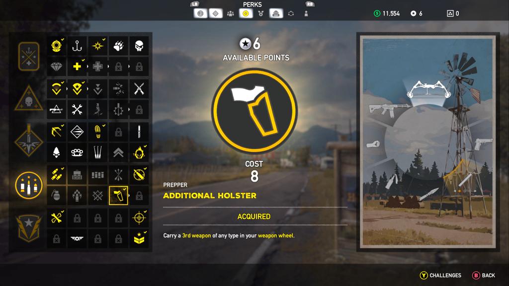 Far Cry 5 Skills