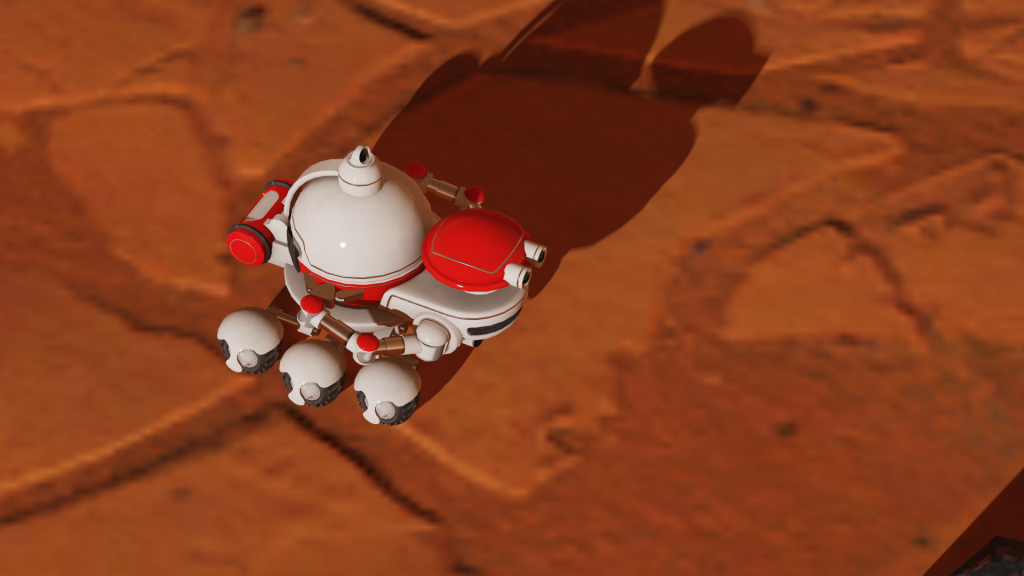 Surviving Mars Rover
