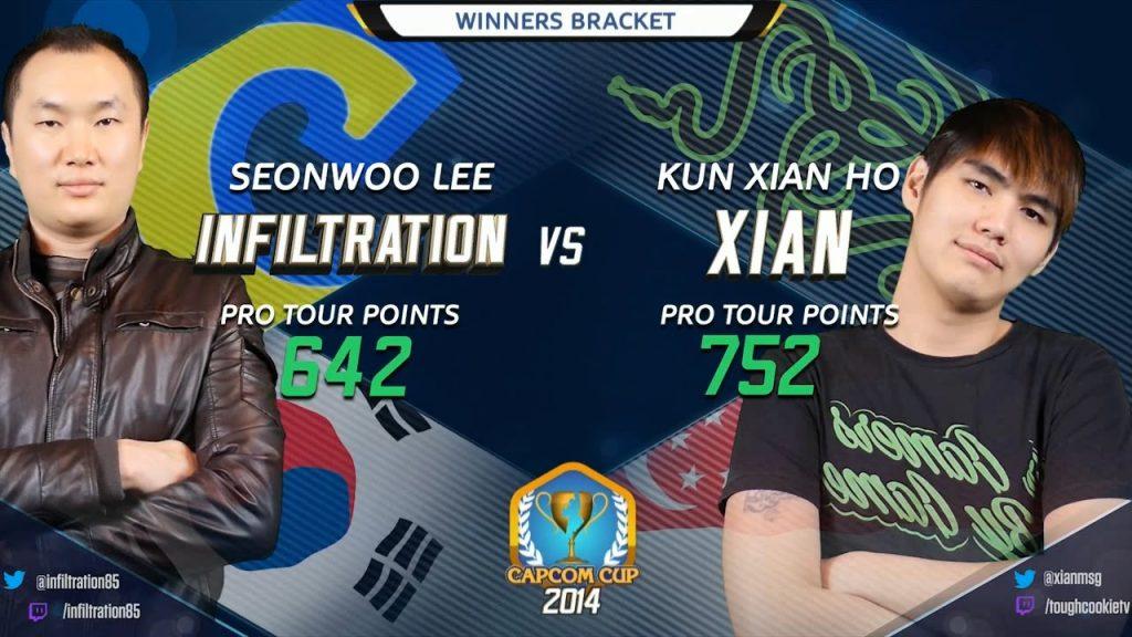 Seonwoo Lee (Infiltration) vs Kun Xian Ho (Xian) Capcom Cup
