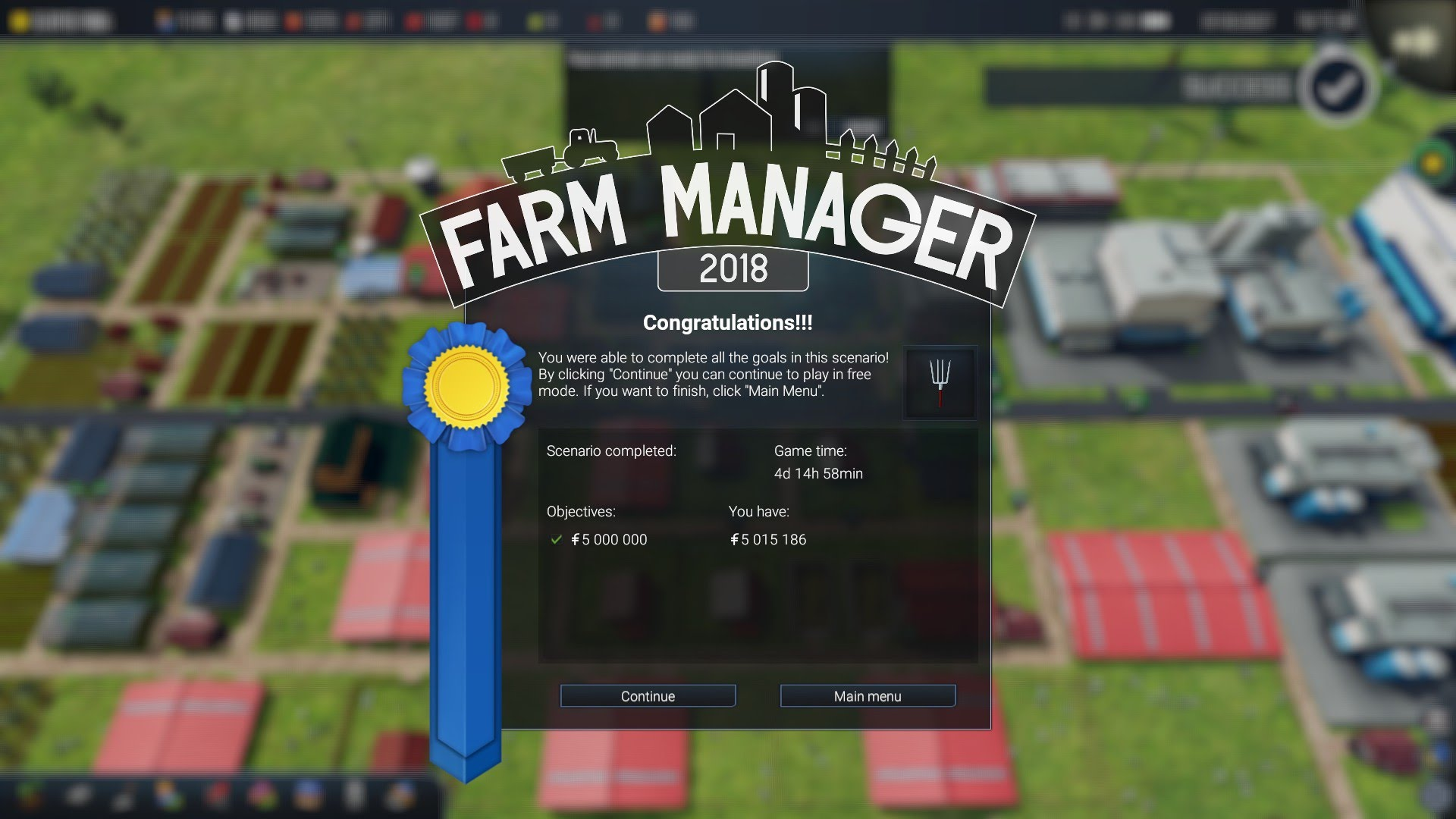 Farm Manager 2018 Campaign