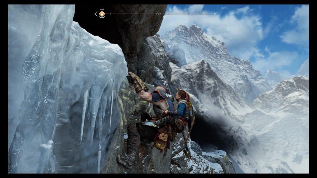 God of War Climbing