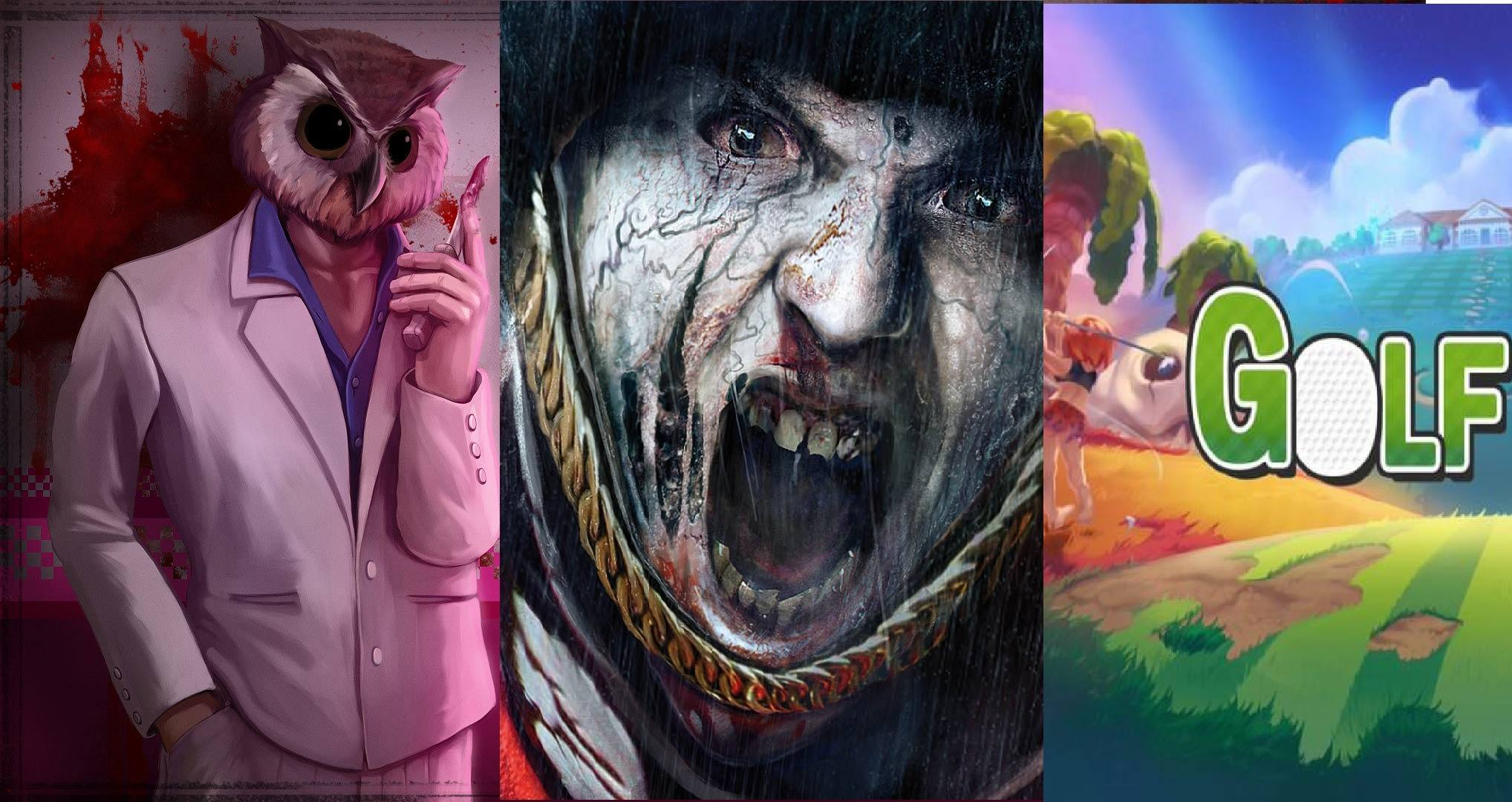 Hotline Miami, ZombiU, Golf Story