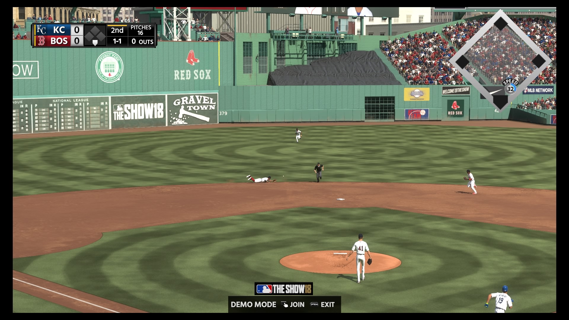 MLB The Show 18 Field