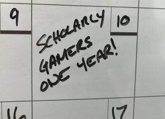 One Year Scholarly Gamers