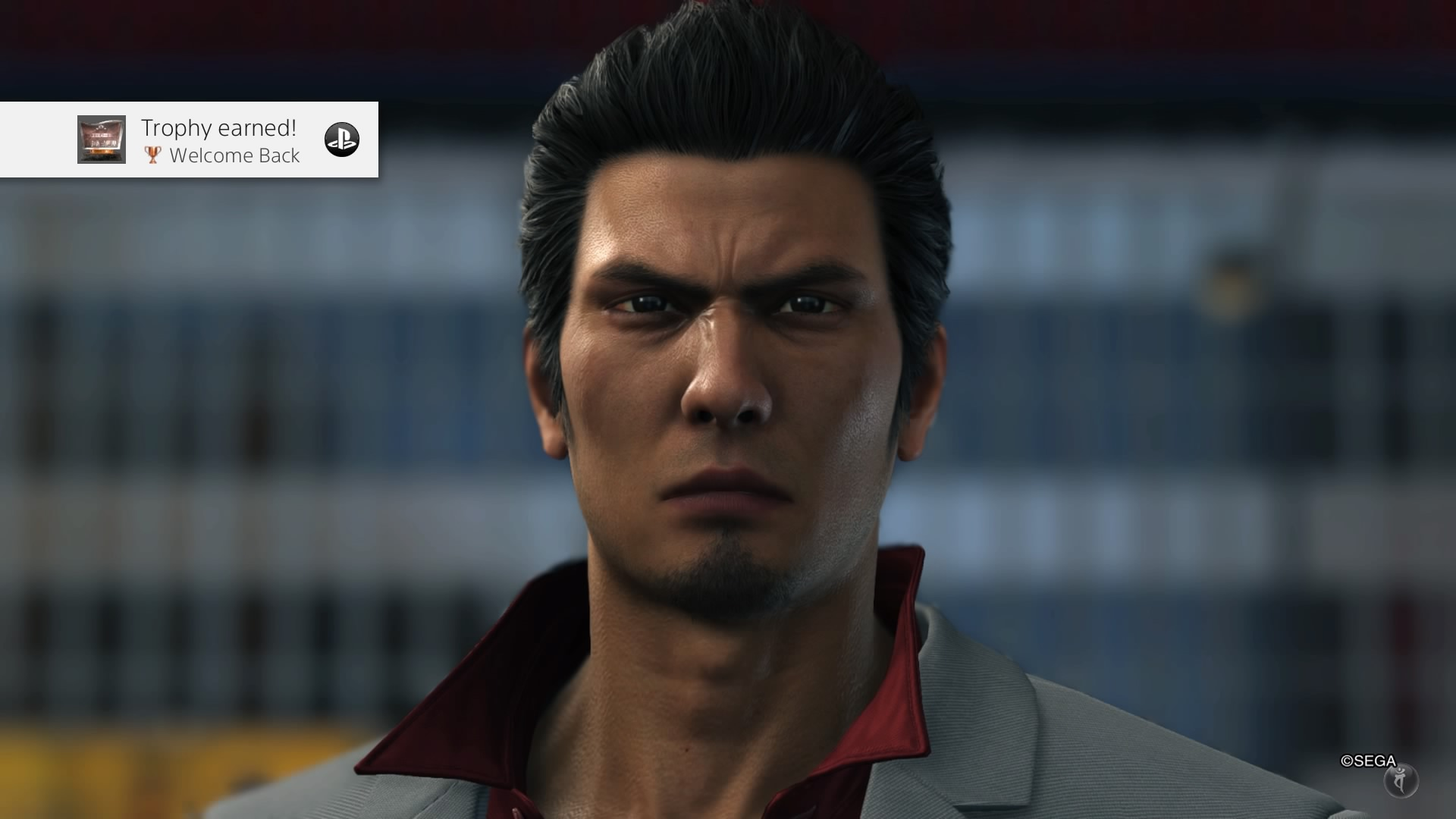Yakuza 6 Welcome Back