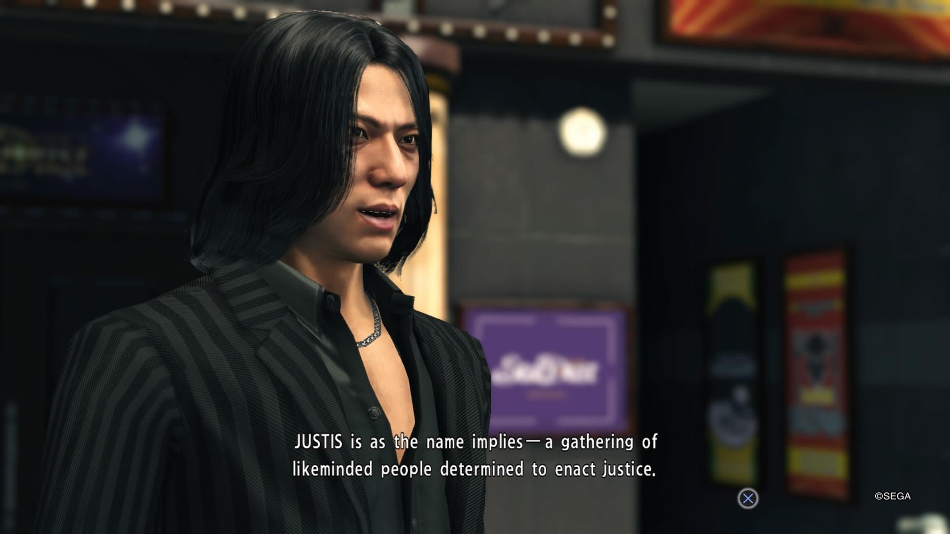 Yakuza 6 Justis