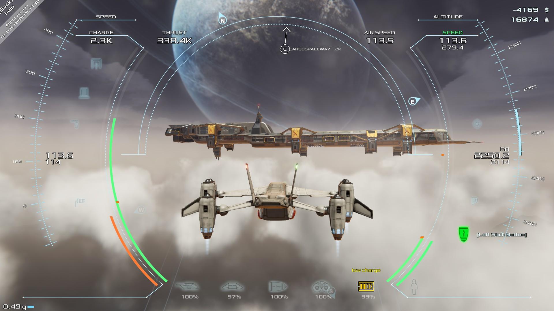 Frontier Pilot Wing-man