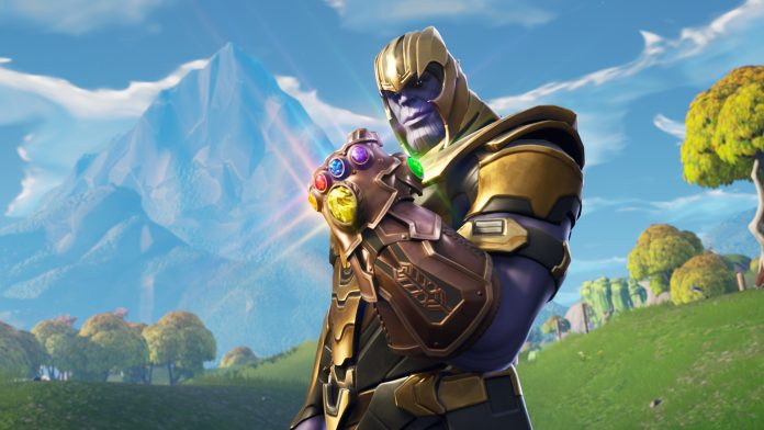 Fortnite v4-1 Patch Thanos